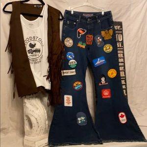 Vintage Silver jeans